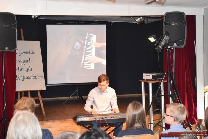 Galeria Wojewódzki Przegląd Młodych Keyboardzistów 2018