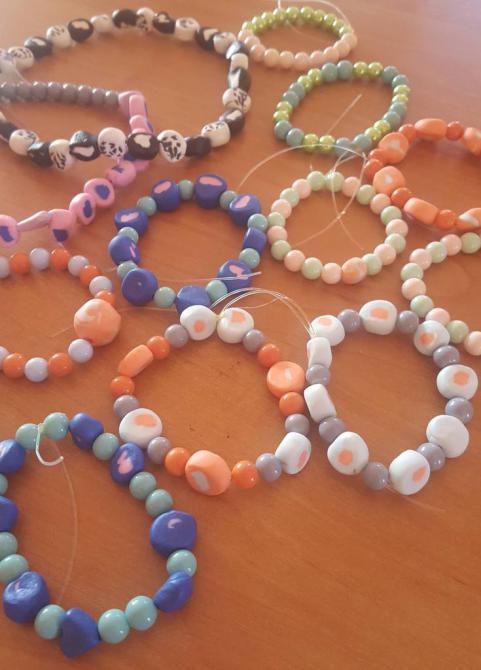 Galeria Kolorowe koraliki Szum