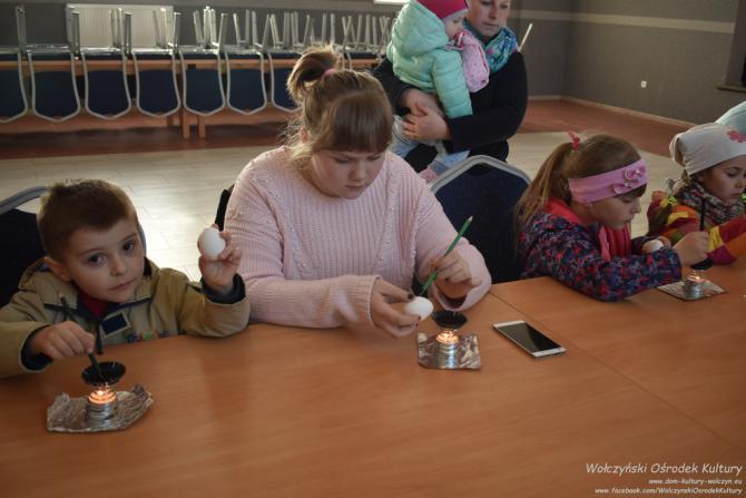 Galeria Warsztaty pisankowe - strojne jajo