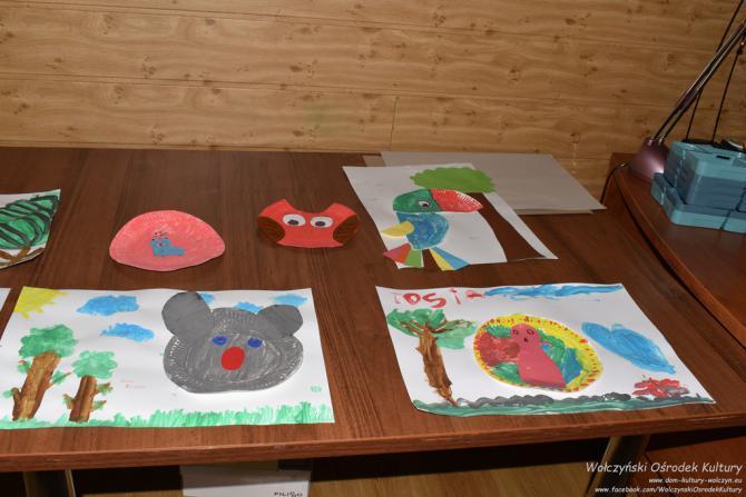 Galeria Zajęcia plastyczne  -zwierzęta na papierze
